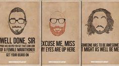 different beards