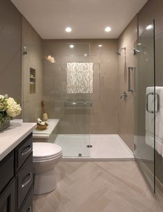 Best Useful Tips: Transitional Kitchen Columns transitional glam julia engel. Spa Like Bathroom, Bathroom Layout, Bathroom Interior Design, Modern Bathroom, Bathroom Ideas, Bathroom Designs, Small Bathrooms, Bathroom Mirrors, Budget Bathroom