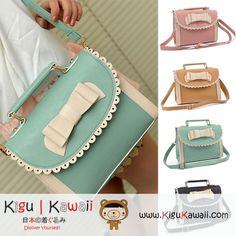 New Bow Messenger 4 colors Bag KK89