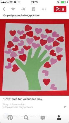 Barn hjärtanträd