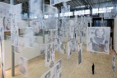 """Installation view """"Christian Boltanski - Moved"""" Geist(er), 2013."""