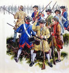Bunker Hill 1775 (Original) art by Gerry Embleton. American Presidents, American History, Bunker Hill, American Revolutionary War, Illustration Artists, Historical Clothing, Illustrators, Original Art, Art Gallery
