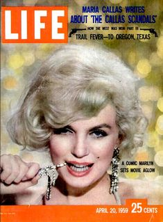 Life Magazine Copyright 1959 Marilyn Monroe - Mad Men Art: The 1891-1970 Vintage Advertisement Art Collection
