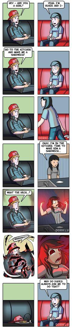 Make Me a Sandwich Comic http://geekxgirls.com/article.php?ID=5408