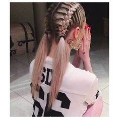 35 Long Hair Braids Styles via Polyvore featuring accessories, hair accessories and long hair accessories
