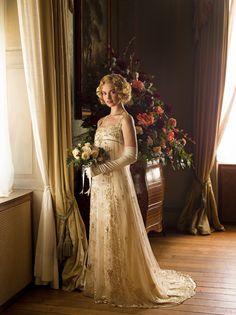 downton abbey rose's wedding -
