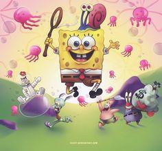 Spongebob by xileft