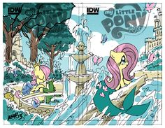 G4 My Little Pony Reference - Comic Books (Friendship is Magic)