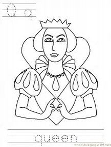 Image Result For Queen Coloring Pages
