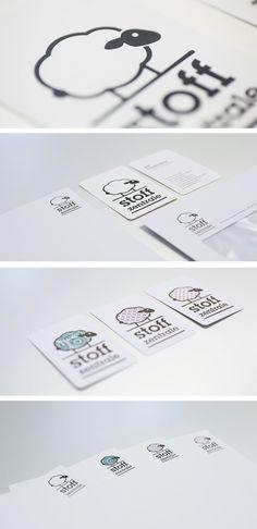 Stoffzentrale – Erscheinungsbild, Briefschaften, Flyer, Layout, Gestaltung, Typografie Flyer Layout, Communication Design, Grafik Design, Cards, Graphics, Projects, Blog, Communication, Typography