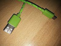 Produkttests und mehr: [i!®] 1m Nylon Micro USB Ladekabel Datenkabel komp...
