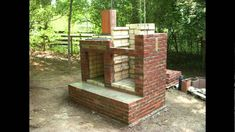 brick smokehouse construction