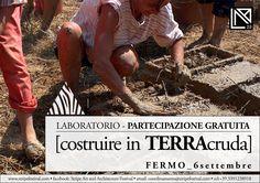 #Laboratorio [costruire in TERRAcruda] Info: http://www.stripefestival.com/laboratori-e-workshop/