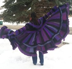 READY TO SHIP Majestic Recycled Sweater Coat by CraftedByAuntyEm, $300.00