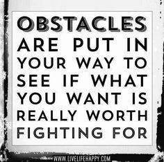 Obstacles are meant to examination your desires, and why you want something. What is the reason or motivation. Obstacles are purposeful. Words Quotes, Me Quotes, Motivational Quotes, Inspirational Quotes, Positive Quotes, Positive Thoughts, Deep Thoughts, Career Quotes, Positive Feedback