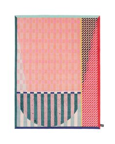 Colorful, Patterned Rugs by Alex Proba for cc-tapis - Design Milk Carpet Flooring, Rugs On Carpet, Carpet Decor, Textile Patterns, Textiles, Print Patterns, Tapis Design, Hallway Carpet Runners, Black Carpet