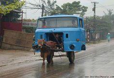 De cabina de camión... ¿a carro? Via martin Geyser en Flickr.