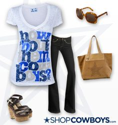 4 DAYS ONLY The Dallas Cowboys Ainsley T-Shirt. Click photo to shop now!