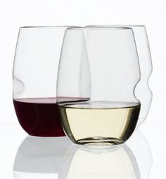 I love these for parties! | Govino Shatterproof Stemless Wine Glasses