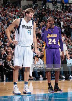 Kobe and Dirk I Love Basketball, Basketball Legends, Basketball Players, Basketball Pictures, College Basketball, Qi Gong, Kobe Bryant Quotes, Dallas Sports, Kobe Bryant Family