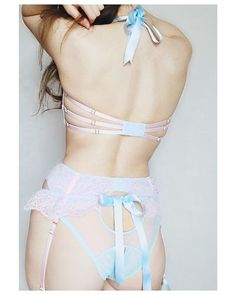 Pink Lingerie, Pretty Lingerie, Beautiful Lingerie, Dance Outfits, Cool Outfits, Wedding Night Lingerie, Bandeau Bra, Bra And Panty Sets, Lingerie Collection