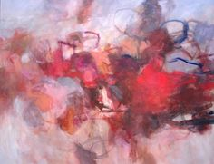 """Becky Fixter, These Dreams, 48"""" x 60"""", acrylic on canvas"""