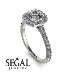 Cushion Diamond Halo Engagement Ring - Jade No. Gold Diamond Rings, Diamond Wedding Rings, Cushion Diamond, Diamond Anniversary Rings, Proposal Ring, Halo Diamond Engagement Ring, Diamond Sizes, Unique Rings, Engagement Gifts