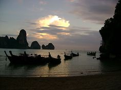 Tonsai beach, Thailand. Missed out on this beach last go around. Next time! :)
