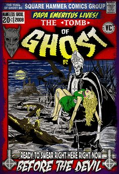 in this Dracula Comic Homage! This Print is printed on a high quality Stock. - Online Store Powered by Storenvy Ghost Comic, Ghost Bc, Comic Art, Music Rock, Dark Comics, Ghost Photos, Queen Band, Gothic Rock, Retro Illustration