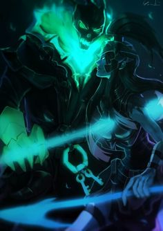 Thresh and Kalista