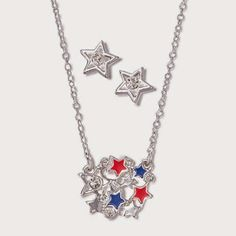 stay beautiful : Lady Liberty Necklace and Earring Gift Set