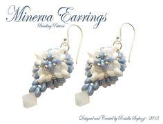 I Bijoux di Rossella: Minerva Earrings - Free Pattern