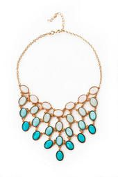 San Juan Ombre Necklace in Mint (prom dress necklace?)