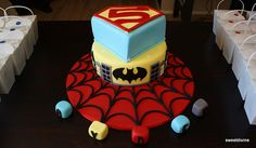 Fabulous super hero cake from mzsweetdevine