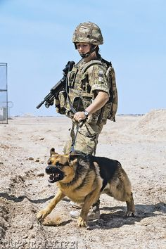 Military K9 Handler Honors Dog with Special Tattoo