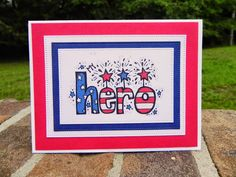 Michele's Craft Room: Operation Write Home Finishing Strong Blog Hop