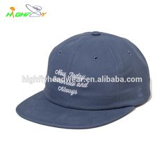 443e98e4478 Source Wholesale custom high quality 6 panel plain canvas embroidery polo hat  unstructured hat