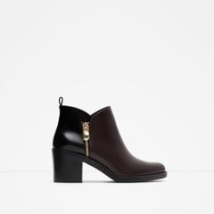 COMBINED ANKLE BOOT from Zara | vegan boots | vegan shoes