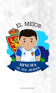 el mejor #Hincha del Real Zaragoza #carcasa #movil #carcasaMovil #somosMotta  #futbolEspañol #españa Zaragoza, Get Well Soon