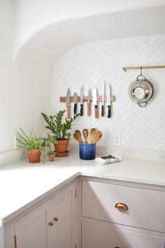 Quick Ship White Herringbone Tiles | Fireclay Tile | Fireclay Tile Kitchen Tiles, Kitchen Design, Herringbone Tile Pattern, Fireclay Tile, Interior Design Resources, Unique Tile, Style Tile, Wood Cabinets, Tile Design