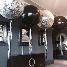 Jumbo Balloons, Clear Balloons, Confetti Balloons, Bubblegum Balloons, Balloon Decorations, Birthday Decorations, Bash, 50th Birthday Party, Birthday Ideas