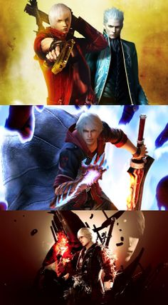 Devil may cry 4, dmc, game, special edition, nero, sword, gun, red queen, devil bringer