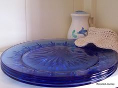 The Prettiest Shade of Blue by RecycledJourney on Etsy, $28.00