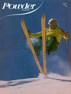 In 1974, Burns returned to Sun Valley and began making The Ski at his factory in Park City, Utah. The rest, as they say, is history.