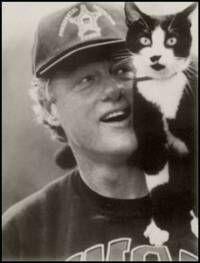 Socks and Bill Clinton