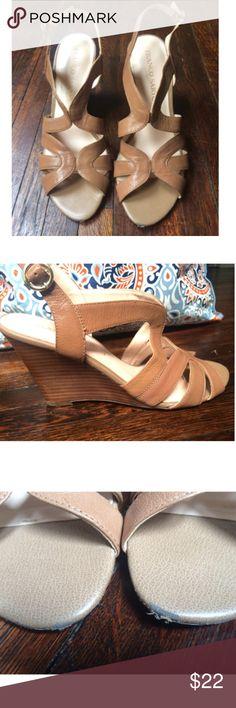Selling this Franco Sarto leather heels on Poshmark! My username is: lavenderbettys. #shopmycloset #poshmark #fashion #shopping #style #forsale #Franco Sarto #Shoes