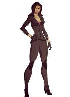 Talia Al Gul - Batman Version Young Justice Characters, Superhero Characters, Dc Characters, Dc Comics Girls, Marvel Comics Art, Marvel Girls, Marvel Comic Character, Character Art, Black Siren