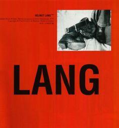 """"""" Robert Mapplethorpe (1973) for Helmut Lang Jeans, Fall–Winter 1997–1998 """""""