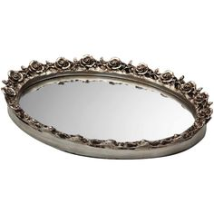 Britten Tray in Antique Silver  Beautiful for a dressing table!