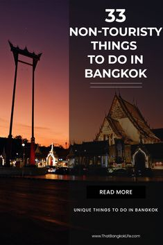 Bangkok Travel is an awesome city but as an expat here, it is hard to avoid the crowds! That is why we are sharing 33 non-touristy things to do in Bangkok, including local markets and great places to eat in Bangkok, Thailand as well as Bangkok Nightlife. Bangkok Thailand, Thailand Travel Guide, Bangkok Travel, Visit Thailand, Nightlife Travel, Asia Travel, Croatia Travel, Hawaii Travel, Italy Travel